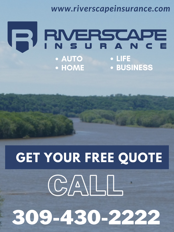 Riverscape Insurance logo printed on a paper